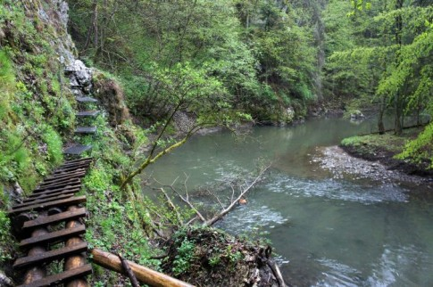 Słowacki Raj – szlak niebieski – przełom Hornadu