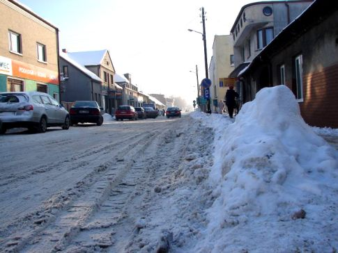 Krzepice zimą grudzień 2010