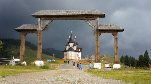 Góry Marmaroskie – przełęcz Prislop