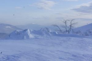 bieszczady zima 2012